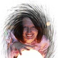 волшебный шар :: Оксана К