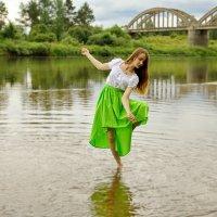 танец на воде :: Андрей Дружинин