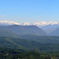 Панорама гор Сочи с горы Ахун :: Александр