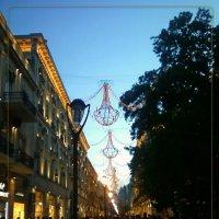 главная улица Баку вечером :: maxim