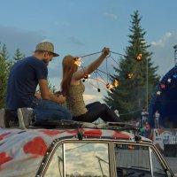 Стрижка с огоньком :: Ольга Логинова