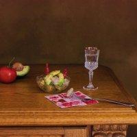 Салатик из сельди и авокадо на закуску :: Надежда