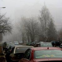 Туманный  город... :: Валерия  Полещикова