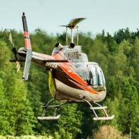 Учебные полеты на Bell 206 :: Валерий Смирнов
