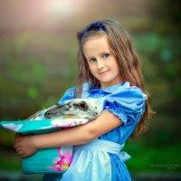 Алиса и безумный заяц :: Екатерина Домбругова