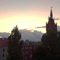 Вечерний вид из окна :: Маргарита Батырева
