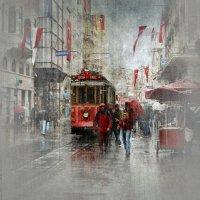 В городе дождь... :: Liliya