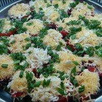 Фаршированные помидоры :: Нина Корешкова