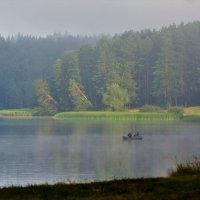 Утро на Воткинском пруду. :: Исаков Александр