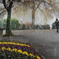 За то, что ты в моей судьбе, cпасибо, снег, тебе. :: Elena Wymann