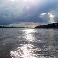 По серебряной дорожке в сиреневый закат. Вечерний Гамбург (серия) :: Nina Yudicheva