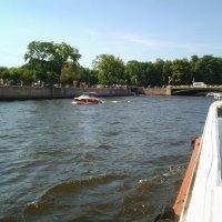 Вплавь по реке Фонтанке. :: Жанна Викторовна