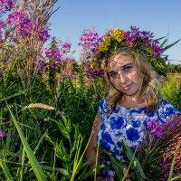 Вся прелесть луговых цветов и Юлия. :: Ирина Кузина
