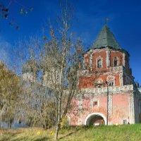 Измайловский остров, Мостовая башня, отражение :: Владимир Брагилевский