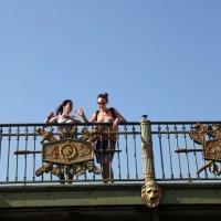 На мосту. С катера :: Наталья