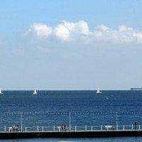Белые кораблики :: Людмила