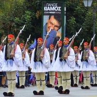Парад  в Афинах :: Оля Богданович