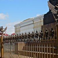 фрагмент ограды Александрийского столпа :: Елена