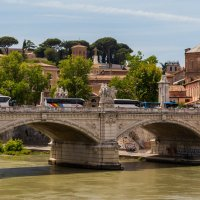 Ponte Vittorio Emanuele II, Roma :: David Rinenberg