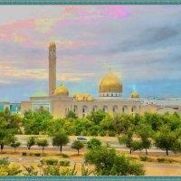 *Мои зарисовки* Мечеть Актау :: Анатолий Чикчирный