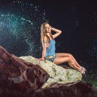 Ночной бриз для Кристины :: Сергей Воробьев