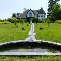 Ручеёк. Один из уголков сада Kingsbrae Gardens (New brunswick, Canada) :: Юрий Поляков