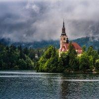 Церковь св. Марии. Словения. :: Тиша