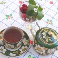 Утренний чай с малиной и мятой... :: Тамара (st.tamara)