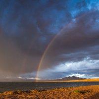 Вечер на озере в Монголии :: Atuan M
