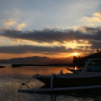 Закат на Бали :: Ekaterina Nikolaeva