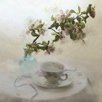 Вдыхая яблоневый цвет... :: Liliya