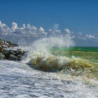 Шум набегающей волны. :: Сергей Адигамов