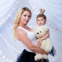 мама и дочка :: Алёна Жила