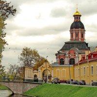 Александро-Невская Лавра и Благовещенская церковь. :: Олег Попков
