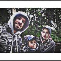 Прогулка под дождём :: Григорий Кучушев