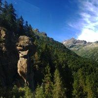 Вид с кабинки канатной дороги в Альпах :: сергей адольфович