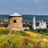 Вид на Елабугу с Чёртова городища :: Денис Кораблёв