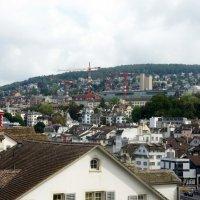 Линденхоф (нем. Lindenhof) — квартал Цюриха, который располагается на левом берегу реки Лиммат :: Елена Павлова (Смолова)