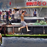 Жара...Паром на азиатскую сторону Стамбула :: Лариса Журавлева