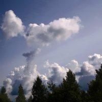 Странное облако :: Владимир Рязанов