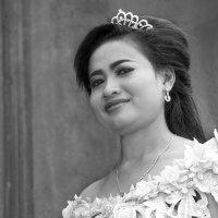 Портрет кхмерской девушки... :: Cергей Павлович