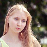 Солнце в волосах. :: Алексей Хаустов