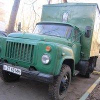 Зелёный фургон :: Дмитрий Никитин
