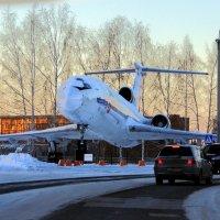 аэропорт Толмачёво :: vg154