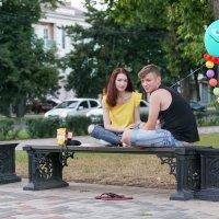 Любовь и шарики :: Андрей Майоров