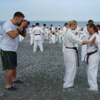 Тренировка на пляже :: Михаил Битёв