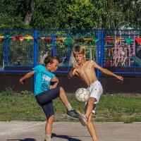 Футбольные страсти. :: Андрей Лобанов