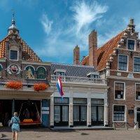 Весовая и площадь перед ней, Эдам, Голландия :: Witalij Loewin