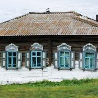 деревянная старина. Сибирская деревня :: Анна
