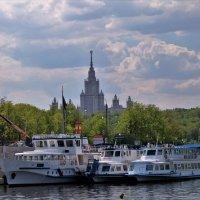 Москва - река :: Сергей Кухаренко